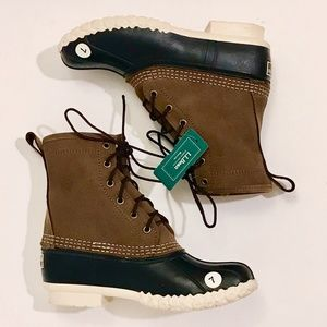 L.L. Bean Limited Edition Chamois-Lined Bean Boot